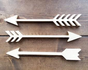 Geometric tribal arrow