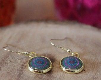 GOLDEN earrings 12 mm