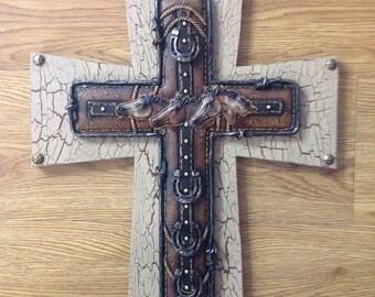 NEW Western Horsehead Cross