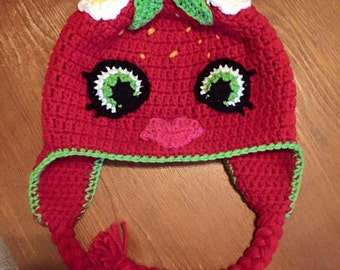 Crochet Shopkins Style Hat