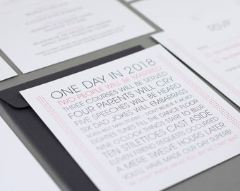 Kate wedding invitation collection