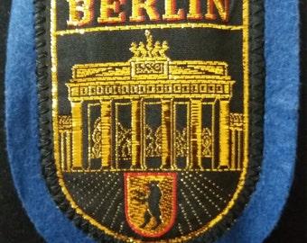 Berlin Branderburg Door Patch Germany vintage