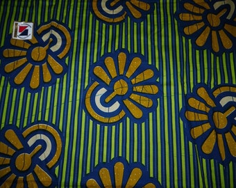 Fabric - Waxed Fabric - African - Nichemwax - Strong color