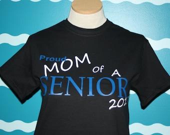 Proud Mom t-shirt - Proud mom senior shirt - Senior school mom pride shirt - custom senior mom shirt