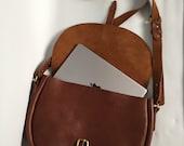 Large tan bag leather saddle bag tan leather satchel large tan purse brown shoulder bag tan messenger tan saddle bag large tan bag