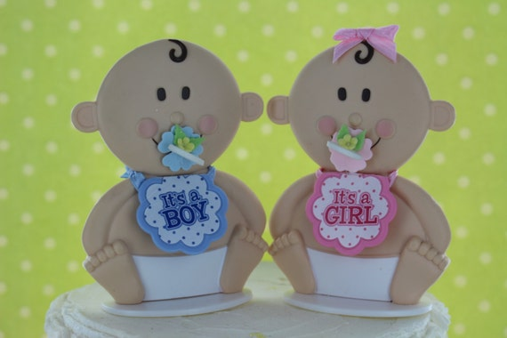 baby shower cake topper baby girl topper baby boy topper baby