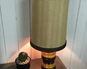 Retro 70's table lamp