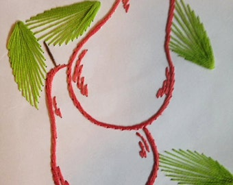 Handmade Paper Embroidery