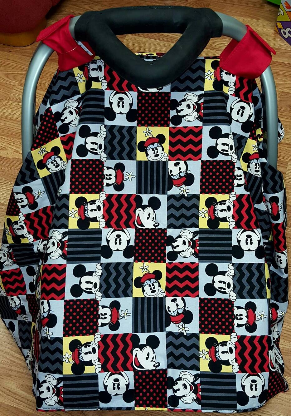 Mickey and Minnie Car Carrier Canopy