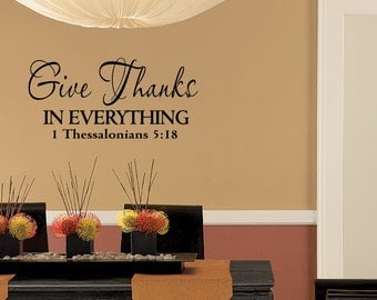 Bible Verse For Kitchen Wall