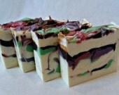 "Handmade cold process soap ""Twigs 'n Berries"""