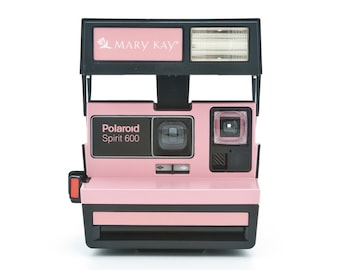 Polaroid Spirit 600 - Mary Kay Camera - Rare branded Polaroid 600 Instant Camera Tested and working - Special Edition Uses Impossible film