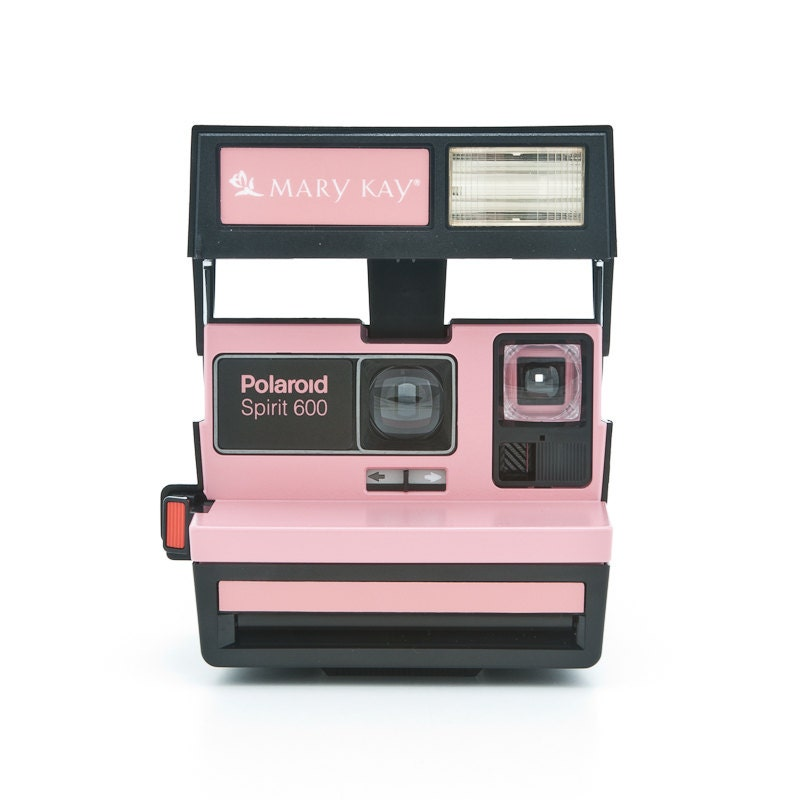 polaroid spirit 600 mary kay camera rare branded polaroid. Black Bedroom Furniture Sets. Home Design Ideas
