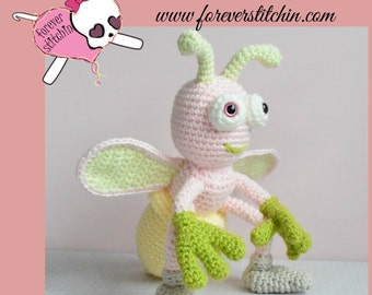 Layney the Lightning Bug Amigurumi