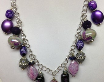 Purple Splendor Necklace