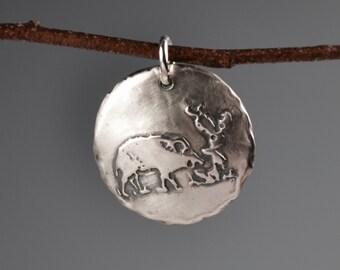Javelina totem-talisman-charm-amulet-spirit animal-power animal