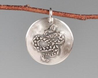 Rattlesnake totem-talisman-amulet-charm-desert