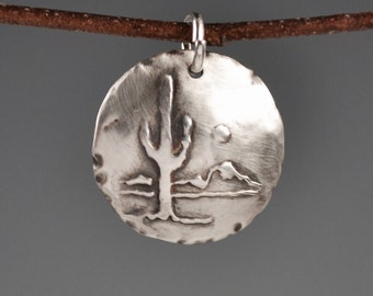 Saguaro totem-talisman-charm-amulet-southwest-desert
