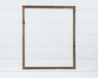 """20x24   1"""" Barnwood Frame"""