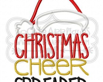 Christmas Cheer Spreader!! Embroidered Shirt, Bodysuit, Burp Cloth, Dish Towel and more!