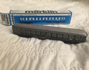 Marklin HO #4052 Metal Express Passenger Car. - with original box