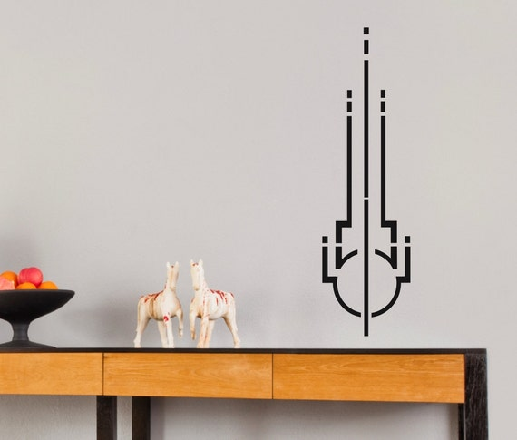 Art Deco Symbol 1 ... Vinyl Wall Decal