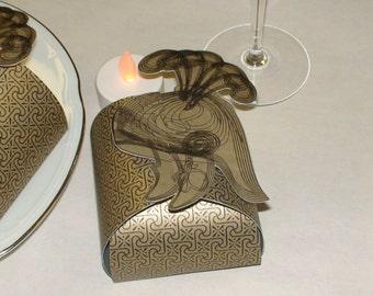 Roman Theme Party Favor Box