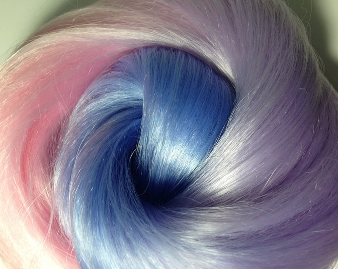 Featured listing image: IN STOCK Pixie Wings Synthetic Ombré Doll Hair for OOAK Custom Monster High My Little Pony Blythe