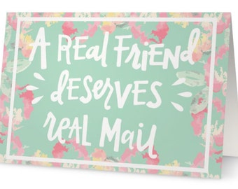 Real Mail Card