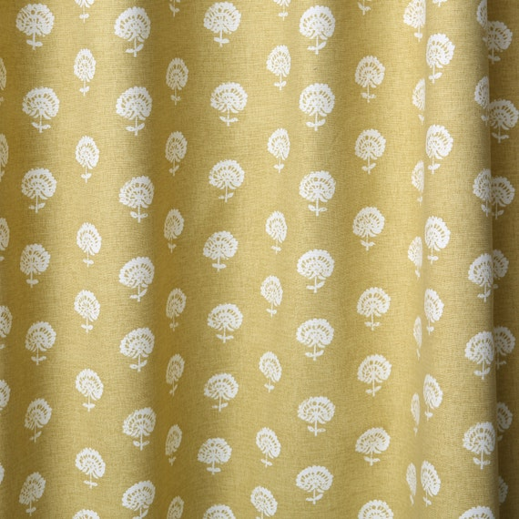 home decor fabric by the yard amber meadowpwlt by pillomatic