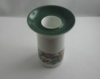 Rosenthal Germany. Candle holder. Form Berlin (Design Hans Theo Baumann). Decor Korso (Design Cuno Fischer). Modernist. 60s. VINTAGE