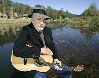 Merle Haggard , Merle Haggard sitting by a lake