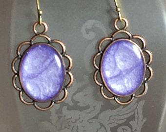 Lovely Lilac Earrings
