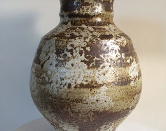Large Signed Studio Pottery Vase