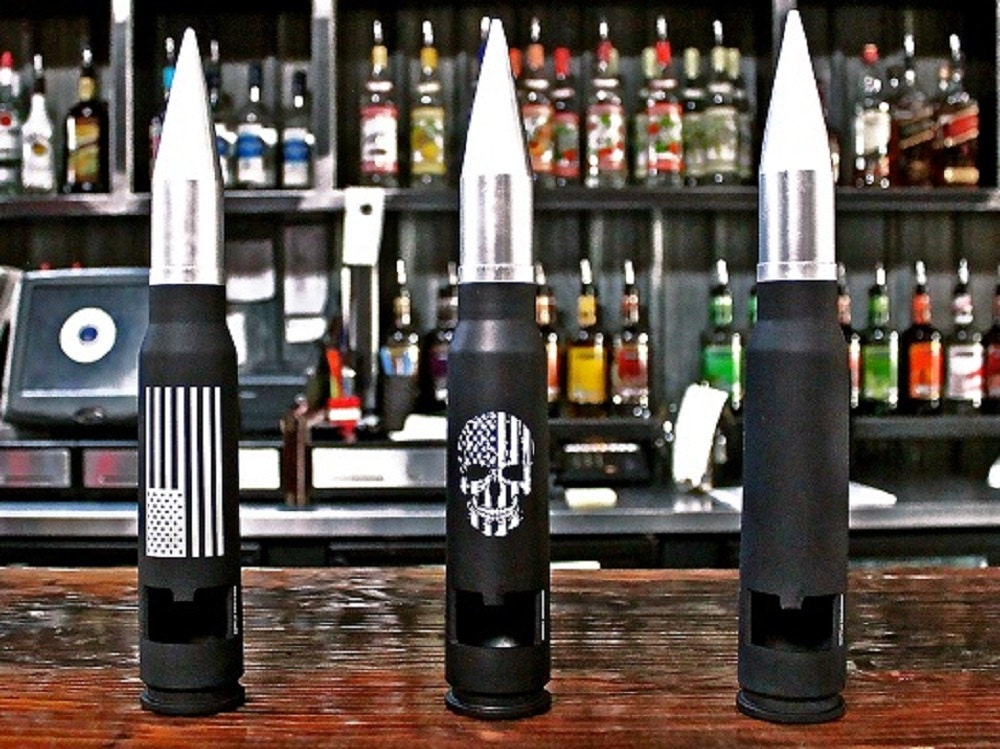 30mm bullet bottle opener husband gift groomsmen gift guy. Black Bedroom Furniture Sets. Home Design Ideas