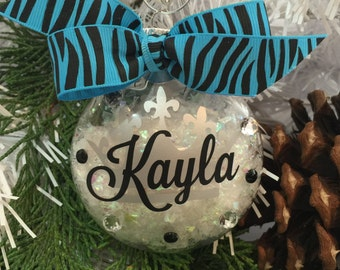 Pageant Queen Ornament, Pageant Queen Gift, Personalized, Monogrammed