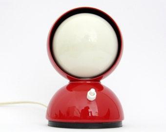 Vintage Lamp // ECLISSE Artemide Mid Century Table Lamp - Design Vico Magistretti