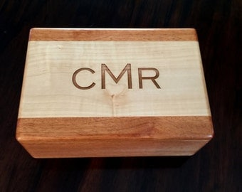 Watch Box, Mens Watch Box, Mens Jewelry Box, Watch Case, Storage, Personalized Gift, Gift for Dad, Mens Gift, Mens Watch Box