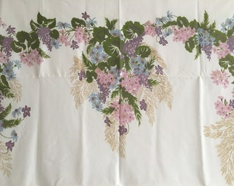 Vintage 1950s Tablecloth