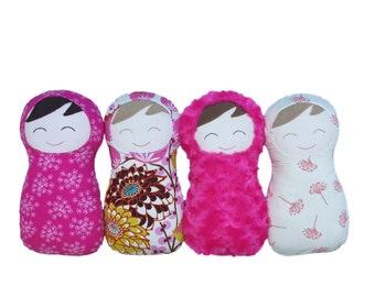 Build Your Own Baby Doll, Handmade Doll, Create Your Own Snuggly Swaddle Doll, Custom Doll, My First Doll