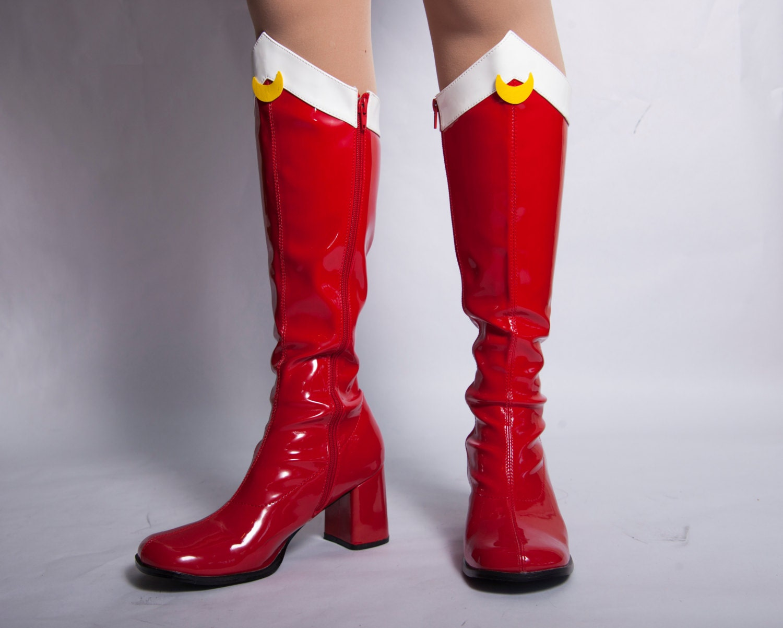 sailor moon boots sizes 4 5 12