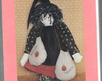 "HALLOW'S EVE 16"" Witch DOLL Pattern"