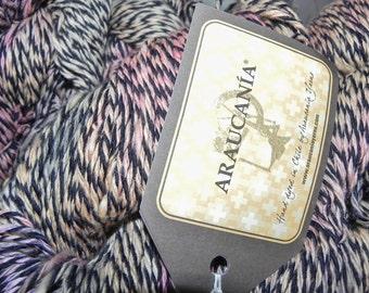 Araucania 100% Cotton Yarn 230Yds 100gr Elqui Multy Color 1107, Yellow & Black