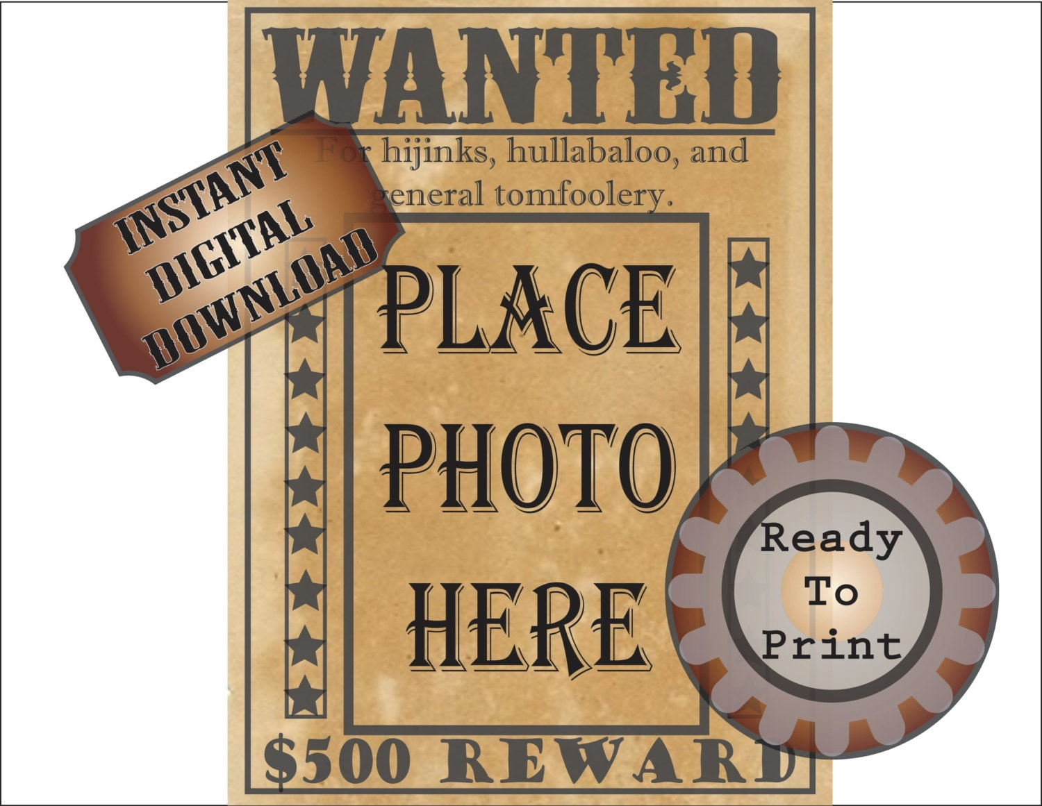 It's just an image of Simplicity Printable Wanted Poster