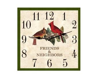 Square Clock- Square Cardinal Clock