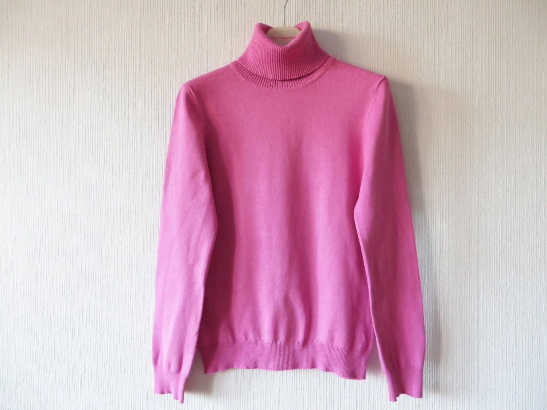Light Pink Turtleneck Light Pink Sweater Turtleneck Pullover