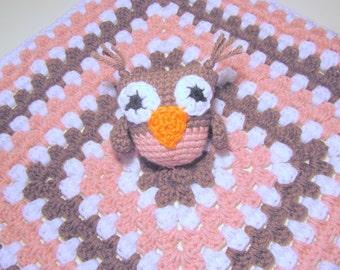 Owl Lovey PDF Crochet Pattern INSTANT DOWNLOAD