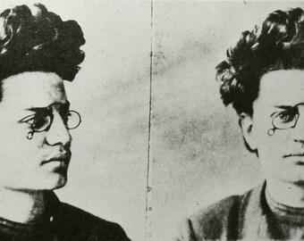 Leon Trotsky , Mugshot - Photo Print