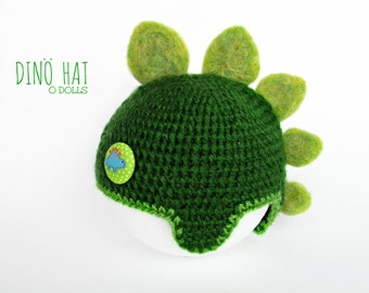 Dino hat for Blythe