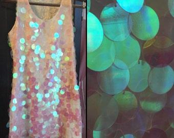 Vintage 1990's Hologram Party Dress